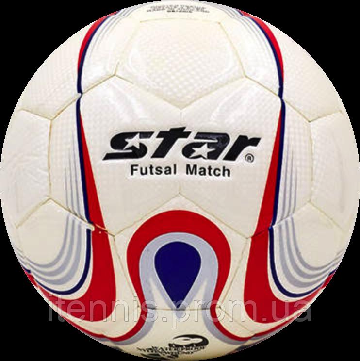 Футзальный мяч Star №4 PU-клееный