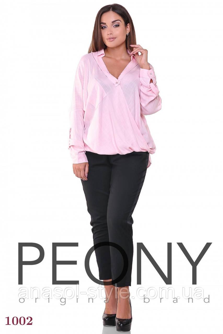Блузка Альмерия (1 размер, розовый) ТМ «PEONY»