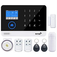 GSM, WiFi сигнализация PG103 с поддержкой RFID. Охранная система для дома, офиса. Комплект A