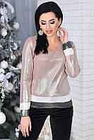 Стильный женский свитерок