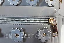 Рюкзак городской молодёжный серый, фото 3