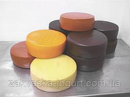 Латексное антимикробное покрытие для сыра (Голландия), черный  (1000 г- на 100-120 кг сыра)