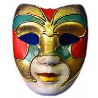 Маска венецианская карнавальная (23см)
