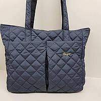 Вместительная стеганая сумка, фото 1