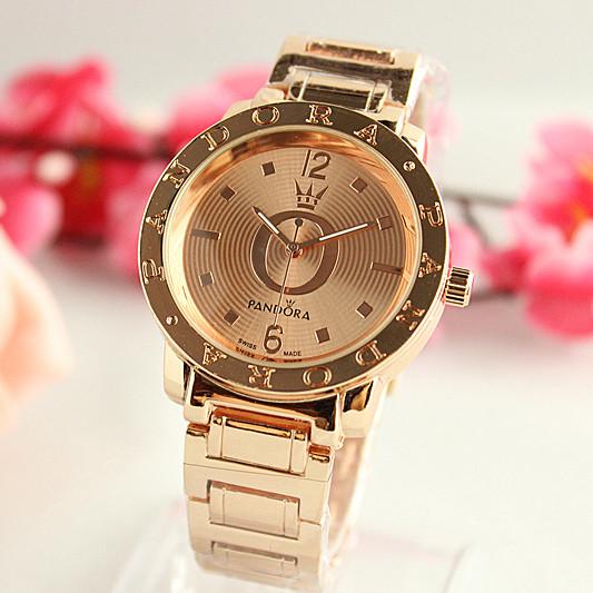 Женские часы Pandora Corona бронзовые