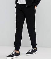 Штаны трикотажные утепленные черные, фото 1