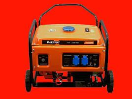 Бензиновый генератор PATRIOT SRGE 3800Е с электростартером