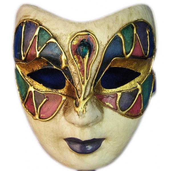 Венецианская карнавальная маска (23см). - Интернет-магазин «Komforty» в Харькове