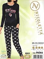 Красивая женская пижама с брюками  Nicoletta 96066, фото 1