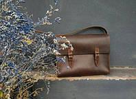 Кожаная сумка ручной работы №7