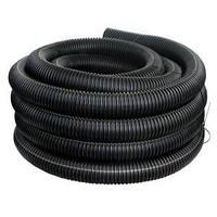 Труба ПВД гибкая гофр. д.16мм стандартная с протяжкой черный цвет