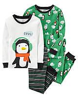 Набор детских пижам  Carters Картерс для мальчика