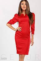 Удобное однотонное платье Gepur 23653