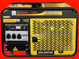 Бензиновый генератор KAMA KGE12Е