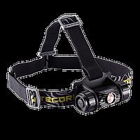 Фонарь налобный Nitecore HC50 (Cree XM-L2, 760 люмен, 10 режимов, 1x18650)