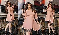 Женское платье батал 47- 340