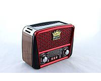 Радио RX 455 Solar с фонариком и солнечной панелью MP3 USB FM SD
