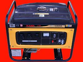 Бензиновый генератор на 3 кВт KAMA KGE4000X
