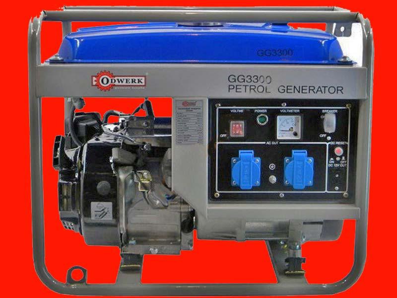 Бензиновый генератор на 3 кВт Odwerk GG-3300