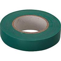 Изолента PVC  0,13mm  x  19mm x 20 метров, зелёная