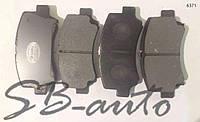 Колодки тормозные передние Faw (фав) 6371.