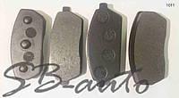 Колодки тормозные передние Faw (фав) 1011.