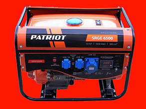 Бензиновый генератор на 5 кВт PATRIOT SRGE 6500