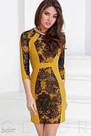 Особенное трикотажное платье Gepur 24347