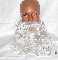 Борода Санта Клауса с усами