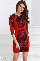 Особенное трикотажное платье Gepur 24390