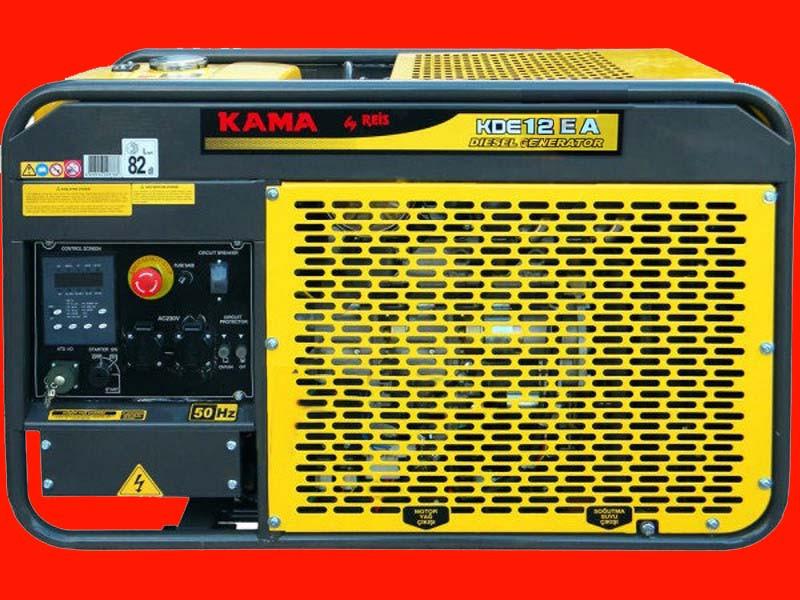 Дизельный генератор KAMA KDE12EА