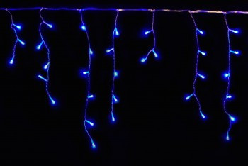 Гирлянда LED ICICLE БАХРОМА  2М*0,5М BLUE IP20