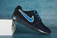 Подростковые кроссовки Nike Синий сетка 00-00000293 р. 35 36 37 38 39