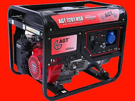 Бензиновый генератор на 6,6 кВт AGT 7201 HSB TTI