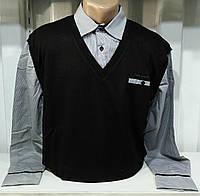 Жилет+рубашка мужская(обманка). Турция.