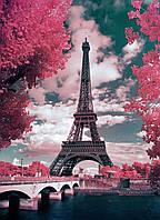 """Набор алмазной вышивки (мозаики) пейзаж """"Романтика весеннего Парижа"""""""