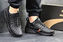 Кроссовки Ronnie Fieg x Highsnobiety x Puma черные , фото 3