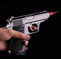 Запальничка у вигляді пістолета WALTHER глянцевий чорний в кобурі SKU0000902, фото 1