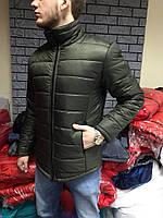Мужская куртка. Теплая куртка. Оливковый и серый. Стильная и современная. 3 цвета.