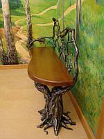 Кованые лавки и скамейки для сада