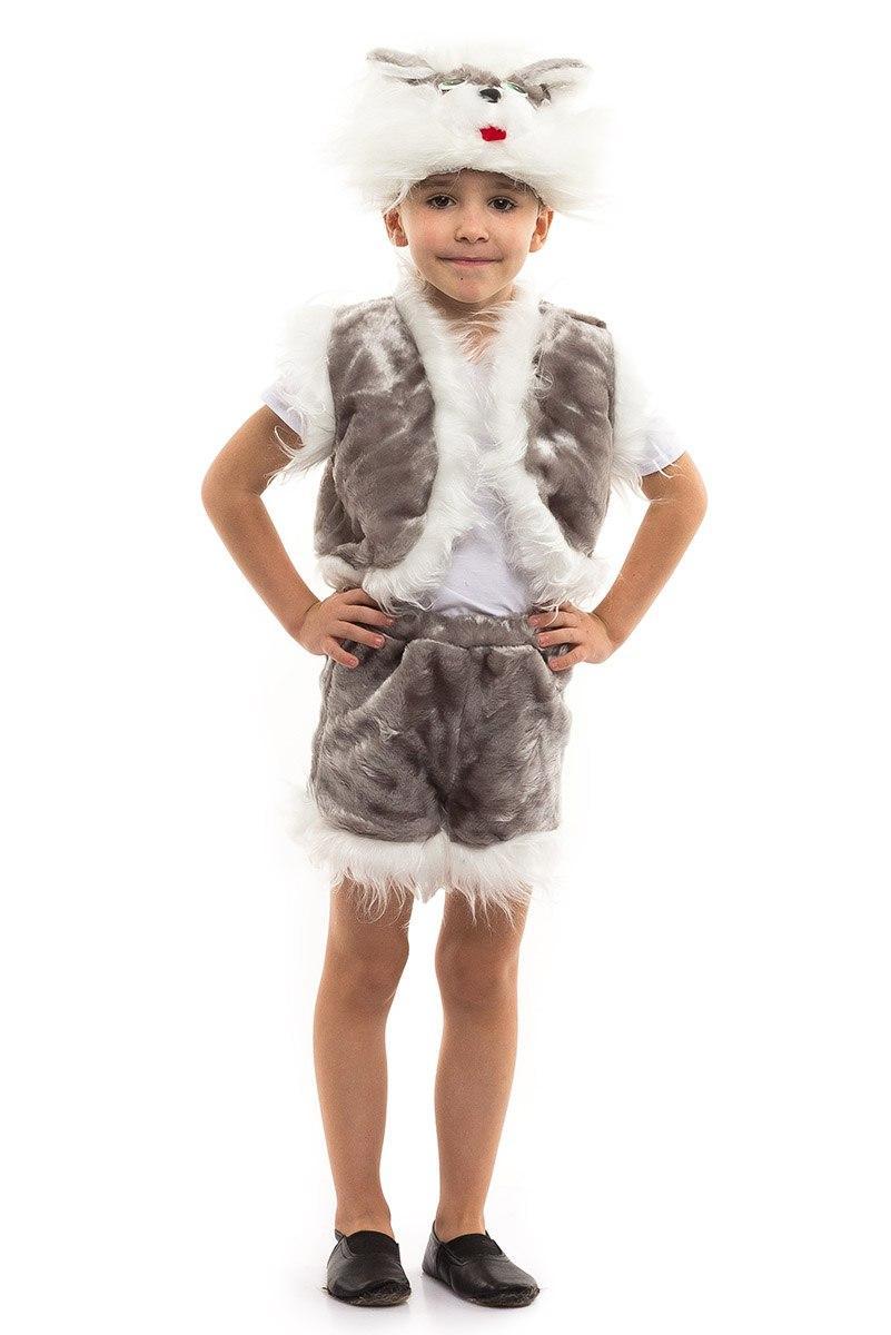 Детский карнавальный костюм Кот Котенка мех (3-7 лет)