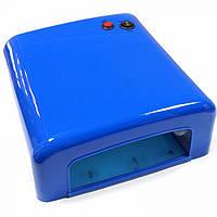 UV Lamp 36 W (818) / Ультрафиолетовая лампа 36 Вт для сушки гелей, Shellac и любых гель-лаков (цвет: синий)