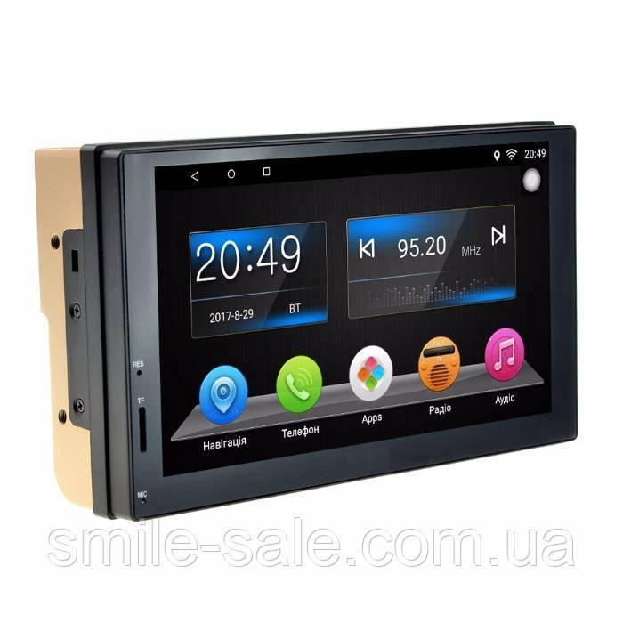 "2 Din Автомагнитола Pioneer 7037 GPS, WiFi, Bt Android 5+NAVITEL+КАМЕРА! - Интернет-магазин электроники ""Smile-Sale"" в Одессе"