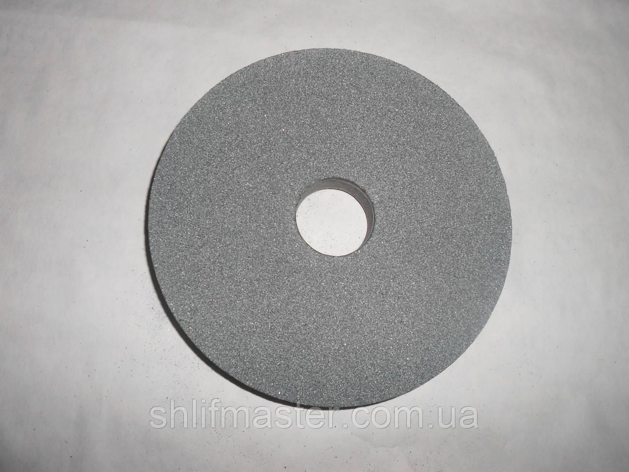 Круг абразивный шлифовальный из карбида кремния 64С (зеленый) 175х10х32 40 СМ1