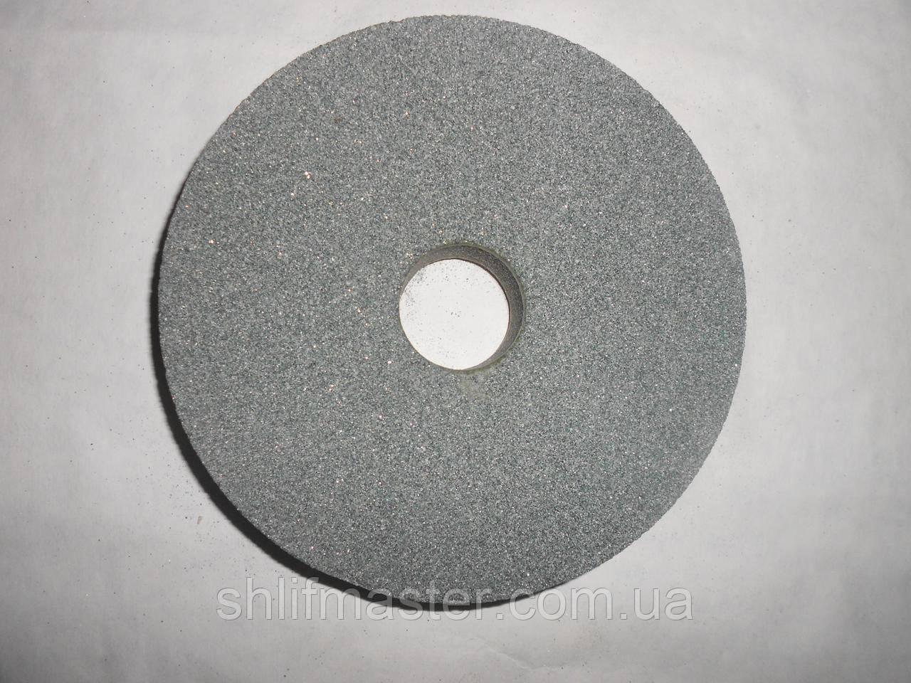 Круг абразивный шлифовальный из карбида кремния 64С (зеленый) 200х8х32 16 СМ