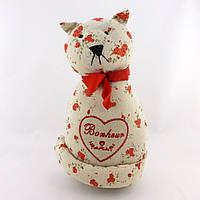 Стоппер для двери – красный кот