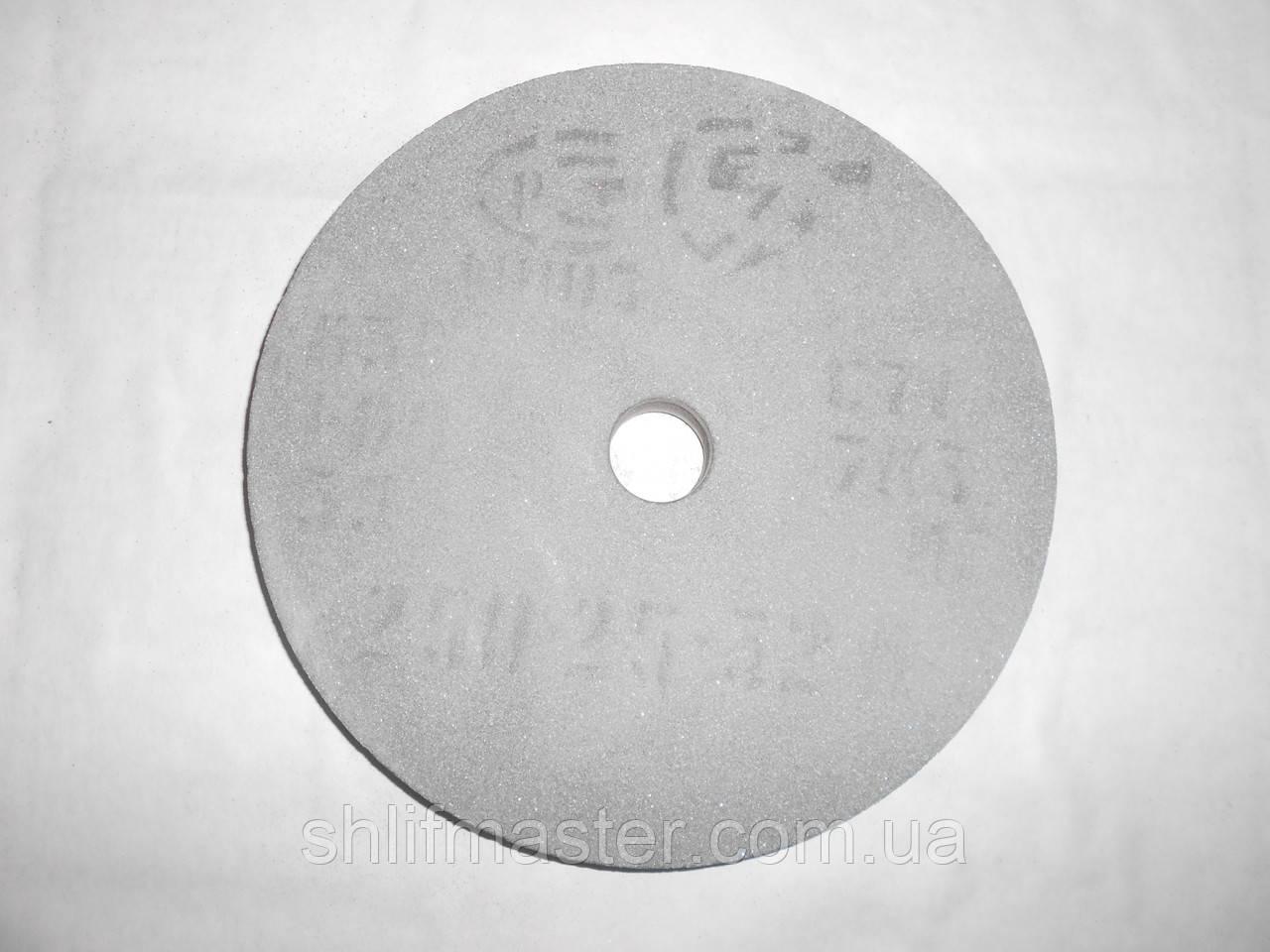 Круг абразивный шлифовальный из карбида кремния 64С (зеленый) 250х25х32 16-40 СМ-СТ