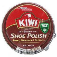 КИВИ Крем для обуви в банке коричневый