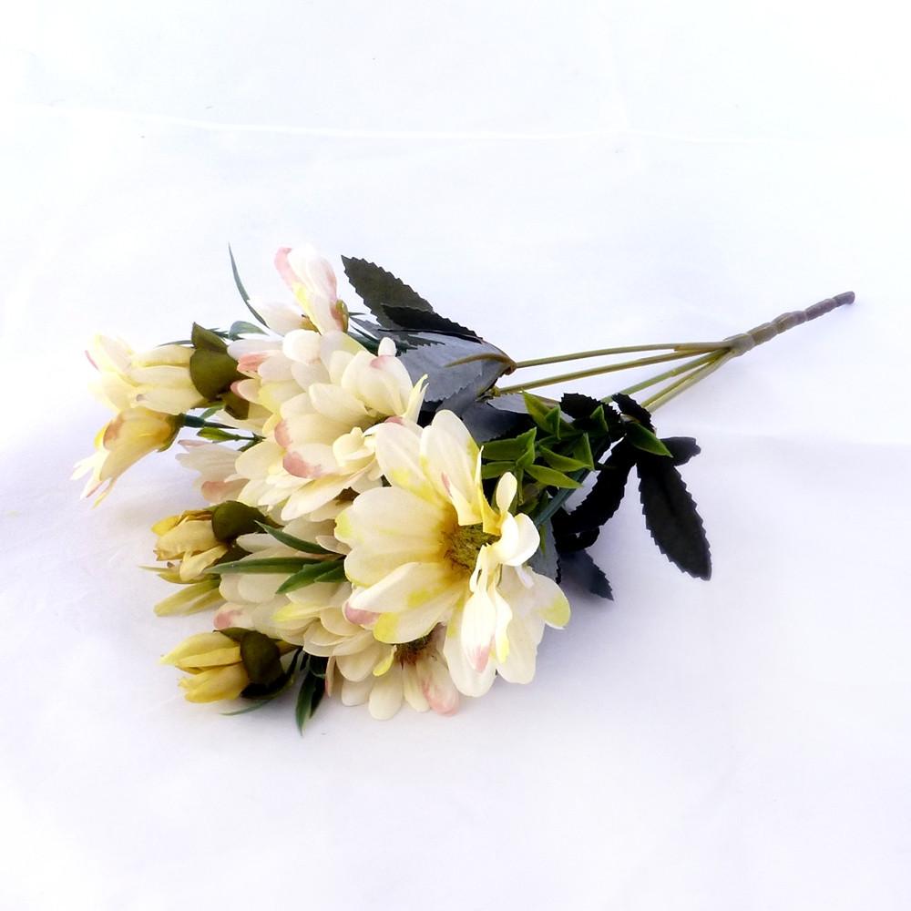 Хризантема осень 30см ткань 357