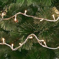 Гирлянды белые 5 метров 100 лампочек